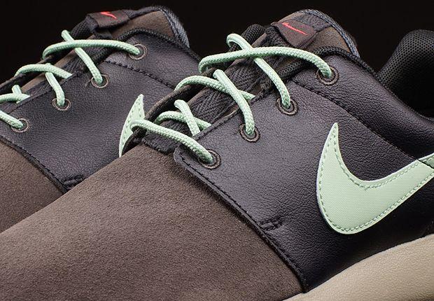 Nike Roshe Run Premium Midnight Fog Emerald Green 4