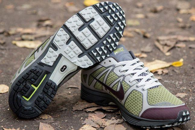 Undercover Nike Lunarspeed Lite Gyakusou Green Burgundy Grey Pair 1