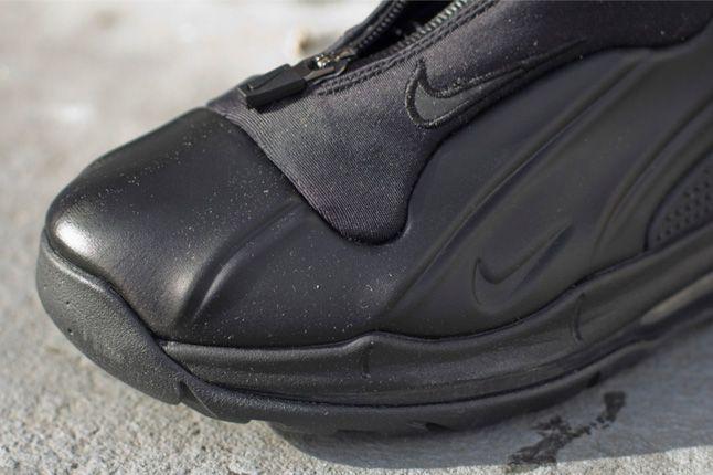 Nike Acg I 95 Posite Max Stealth Black Zipper Detail 1
