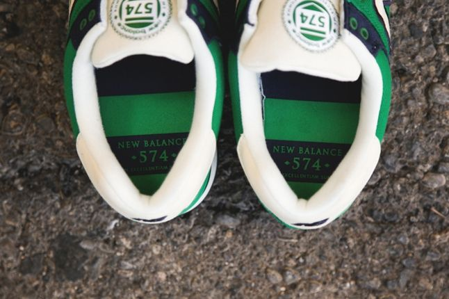 New Balance 574 Rugby Pack Green Top 1