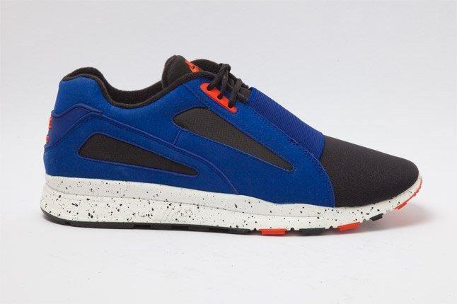 Nike Air Current Blue Orange Speckle Profile 1