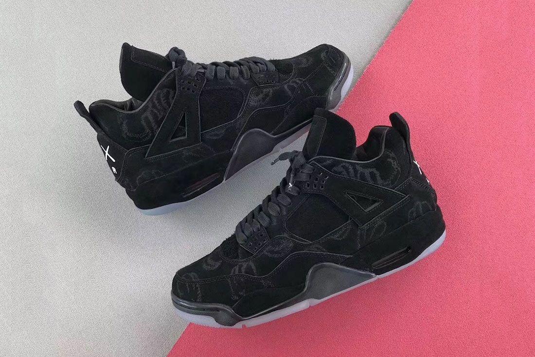 Kaws X Air Jordan 4 Release Date 2