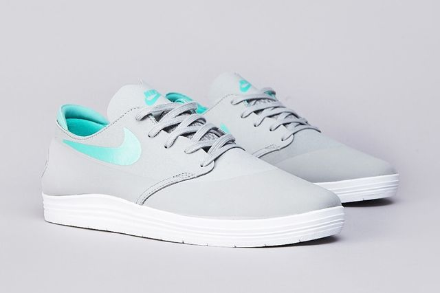 Nike Sb Lunar Oneshot Base Grey Crystal Mint 1