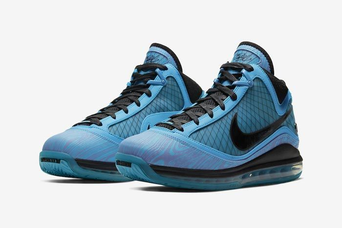 Nike Lebron 7 All Star Chlorine Blue Pair