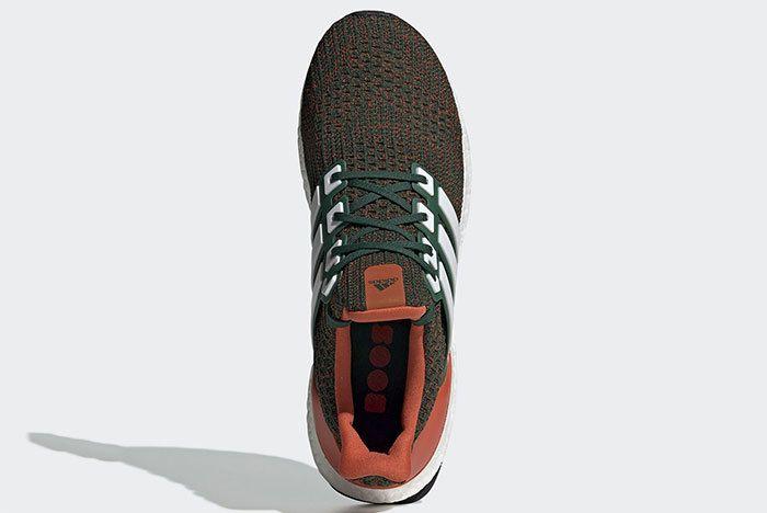 Adidas Ultra Boost Miami Hurricanes Ee3702 2