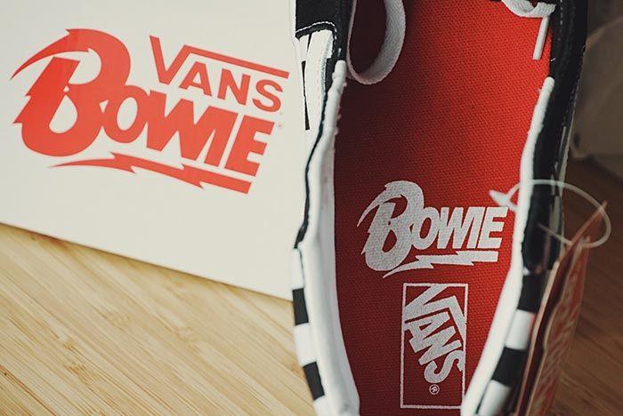 David Bowie X Vans Sk8 Hi Inner Sole Shot