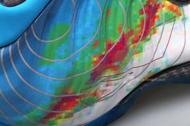 Nike Air Foamposite One Weatherman Midfoot Detail 1