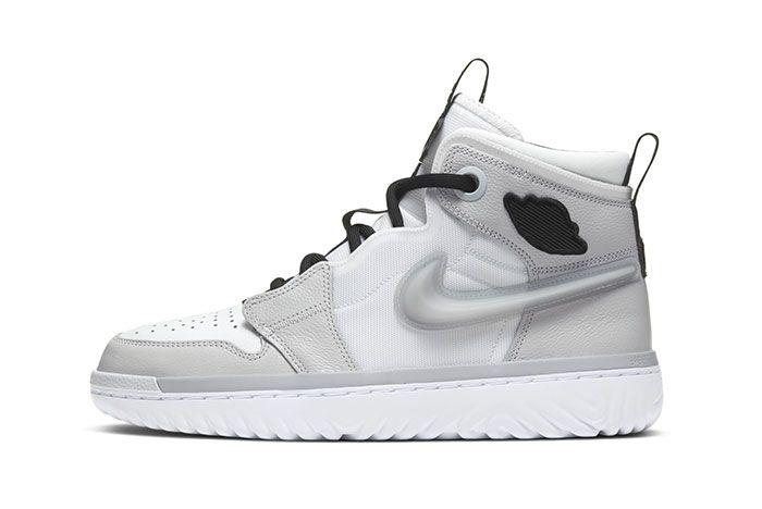 Air Jordan 1 React Grey1 Side