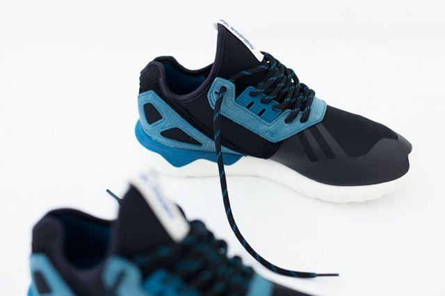 Adidas Tubular Two Tone Turquoise Black 04