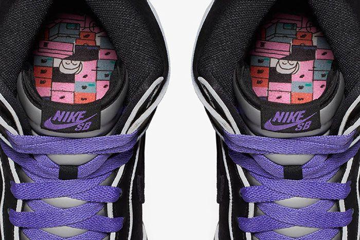 Nike Sb Dunk High Purple Box 7