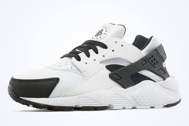 Nike Air Huarache Gs White Black Anthracite 01