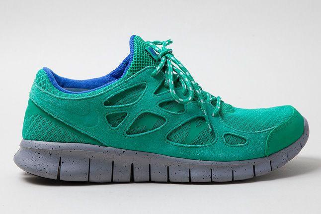 Nike Free Run2 Green Side 1 1