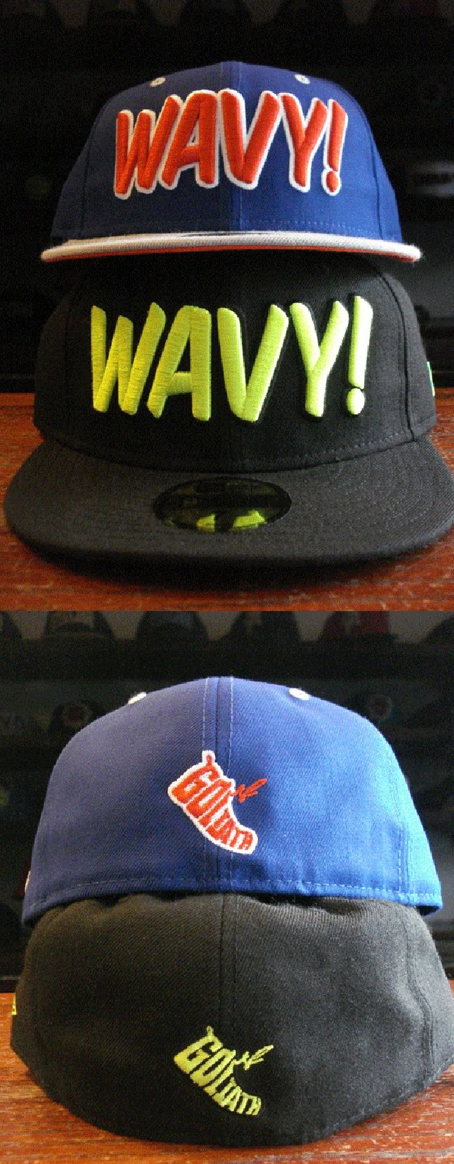 Goliath Wavy Fitteds 1