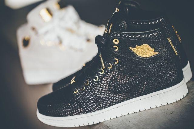 Air Jordan 1 Pinnacle Black Gold 6