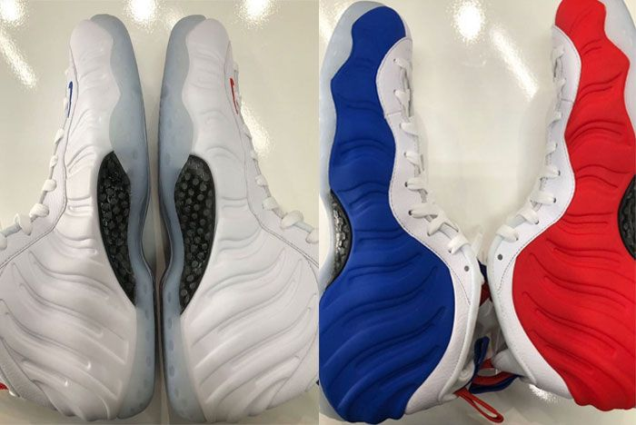 Nike Air Foamposite Usa Both Sides