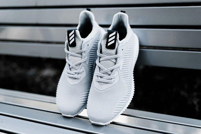 Adidas Alphabounce 1 M Grey White 6