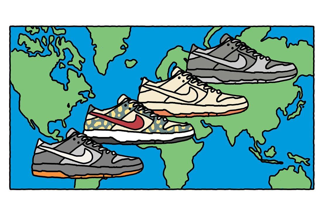 15 Th Annuversary Visual History Nike Sb Dunk 4
