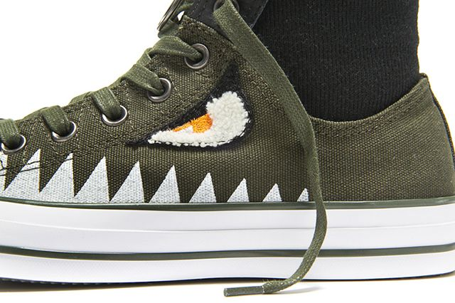 Converse Chuck Taylor Ma 1 Zip Shark Pack 4