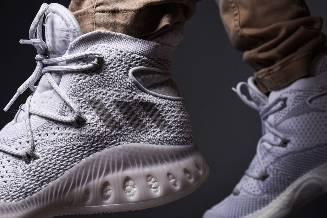 Adidas Crazy Explosive Primeknit Heather Grey 3