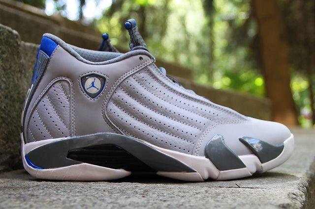 Air Jordan 14 Sport Blue 2