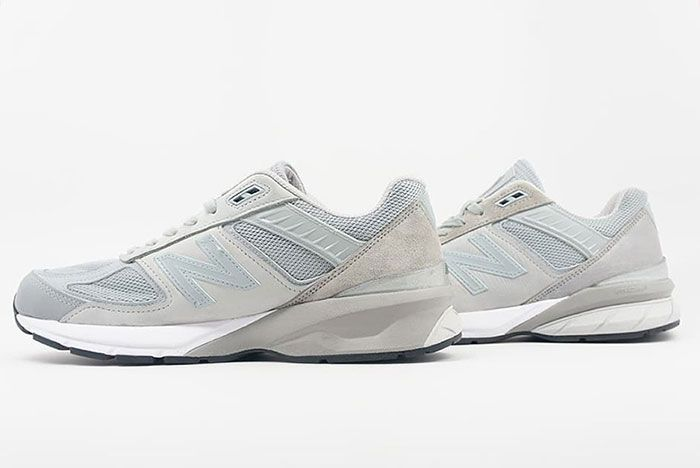 Engineered Garments New Balance 990V5 Grey Lateral