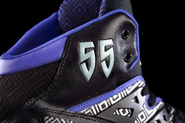 Adidas Mutombo Black Purple 2