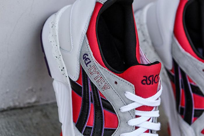 Asics Gel Lyte V Poppy Red 4