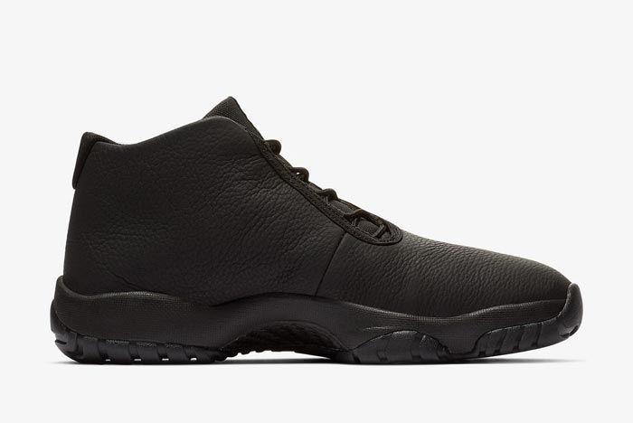 Jordan Future Triple Black Leather Medial