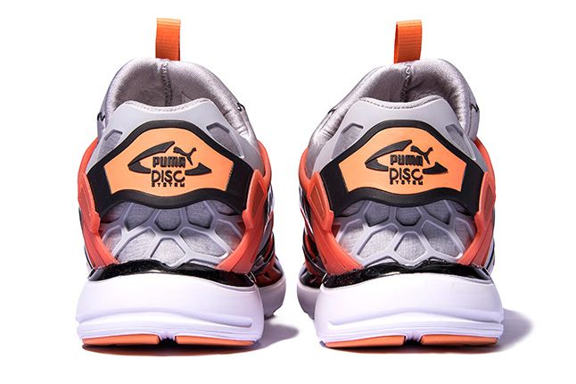 Puma Disc Blaze Ltwt Web Orange Heels 1
