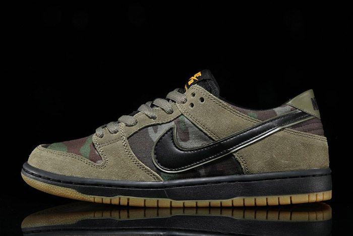 Nike Sb Dunk Low Camo 7