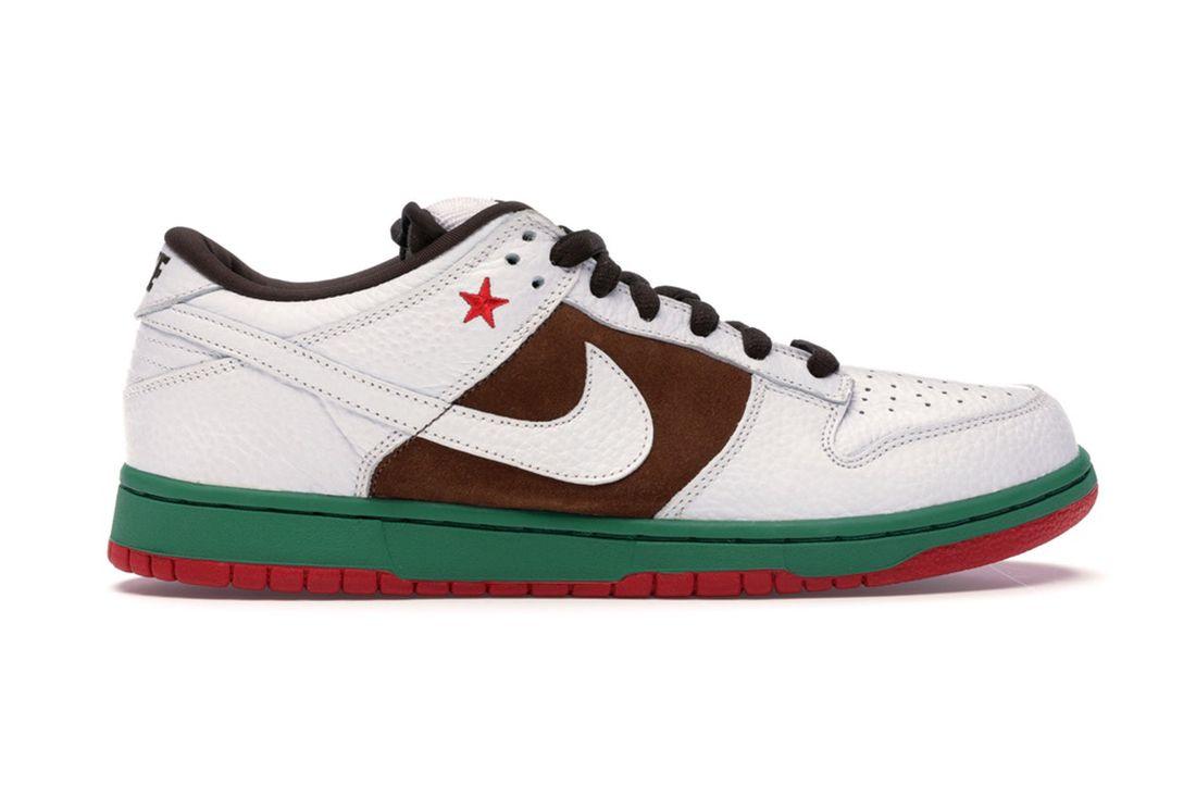 Nike Sb Dunk Low California 304292 211 Lateral