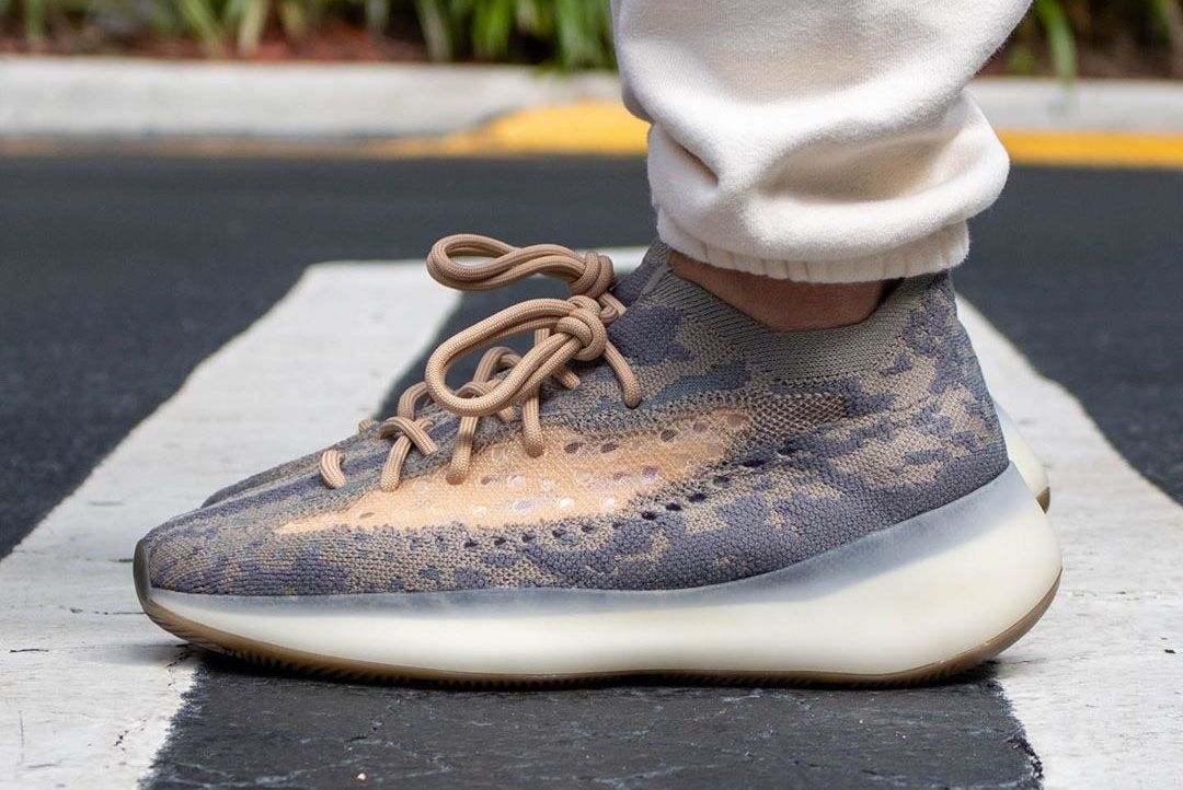 Yeezy Boost 380 Mist Lateral Side