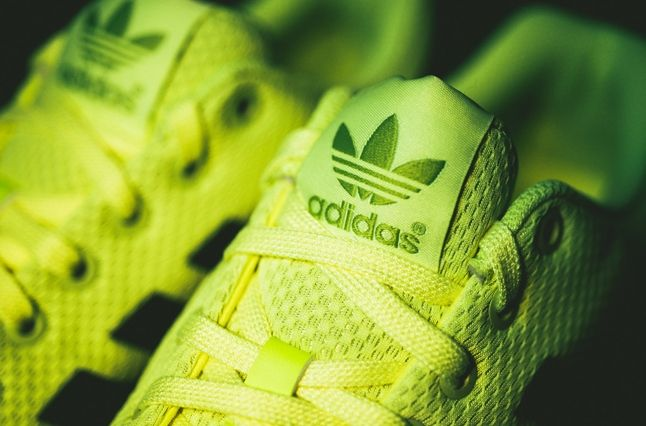 Adidas Zx Flux Electric Yellow 2