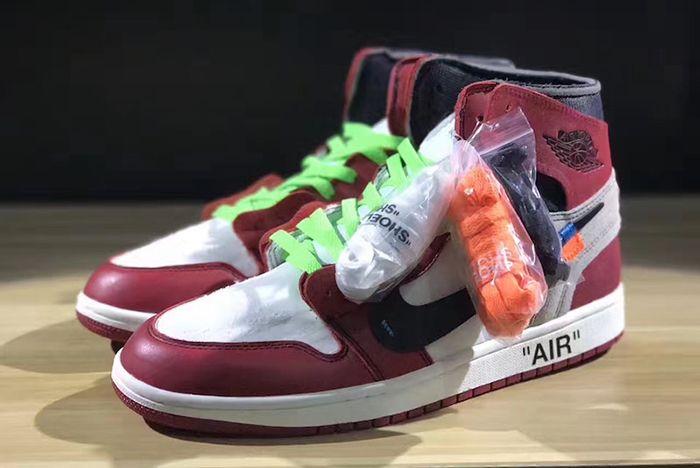 Off White X Air Jordan 1 Collaboration Surfaces
