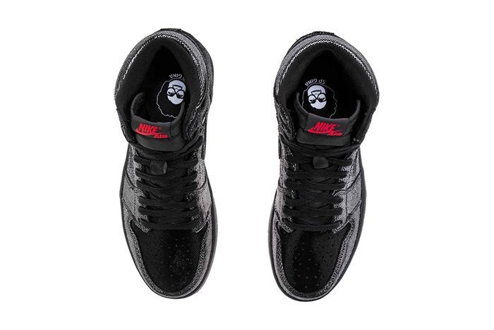 Air Jordan 1 Retro High Og Sp Gina Cd7071 001 Shoe Palace Release Date Top Down