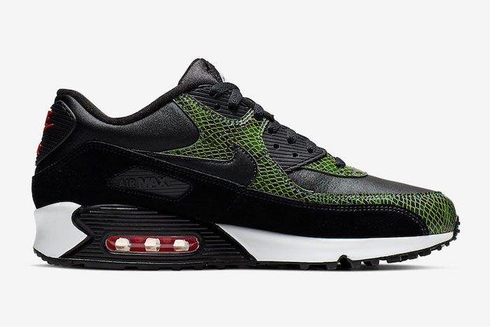 Nike Air Max 90 Green Python Inside