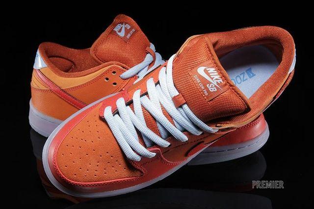 Nike Sb Dunk Low Pro Gamma Orange 1