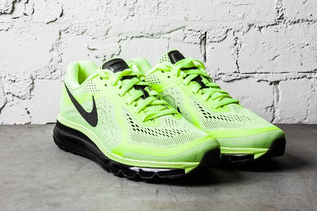 Nike Air Max 2014 Black Barely Volt 2