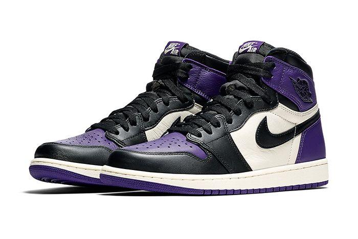 Air Jordan 1 Retro High Og Pine Green Court Purple 4