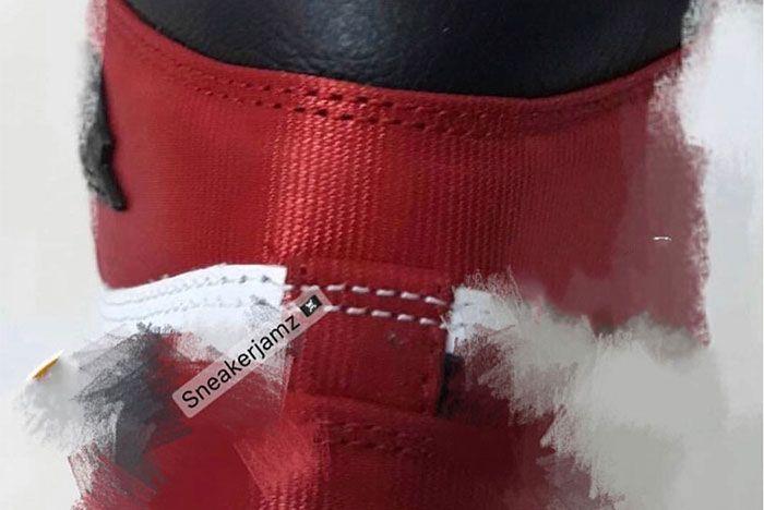 Air Jordan 1 Black Toe Satin Heel
