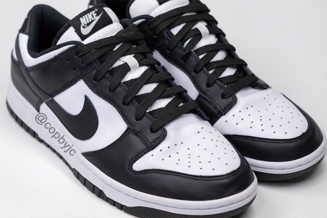 Nike Dunk Low 'Black/White' 2021