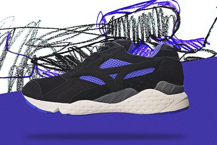 Mita X Mizuno Purple Syrup Lateral Side