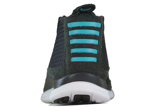 Nike Free Chukka Woven Sport Turquoise Heel 1