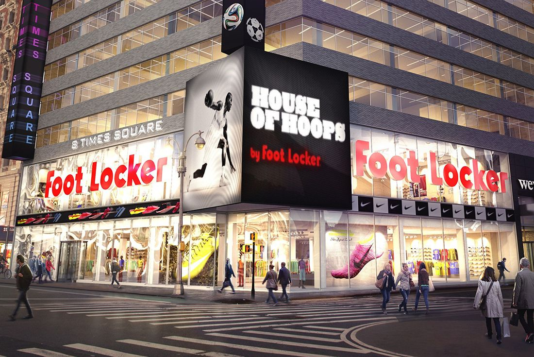 foot locker time square