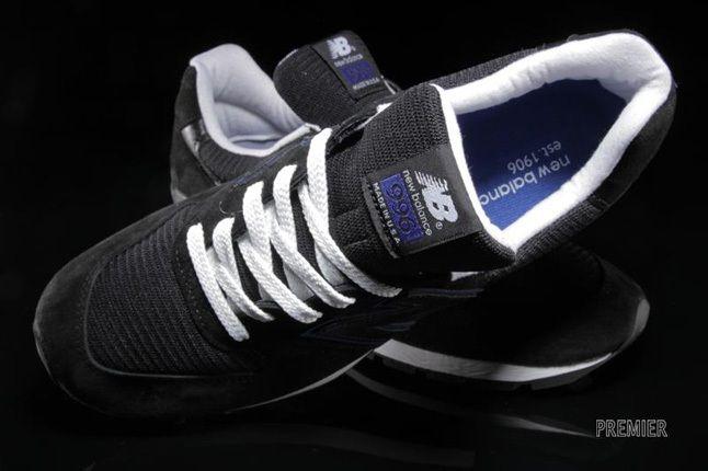 New Balance 996 Black Blue 1