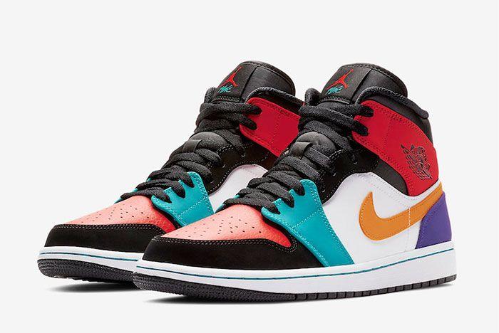 Air Jordan 1 Multicolour Release 4