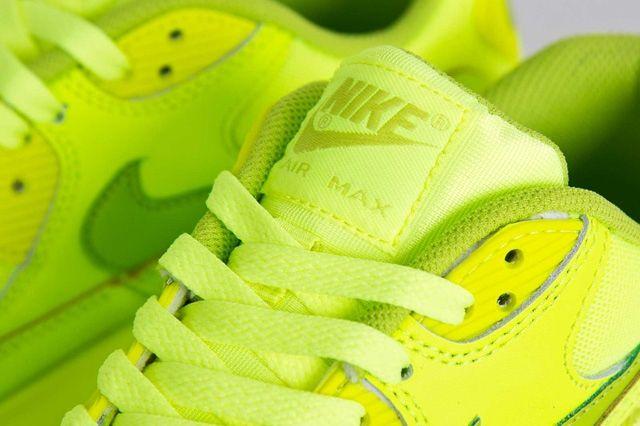 Nike Air Max 90 Gs Volt Fierce Green 4