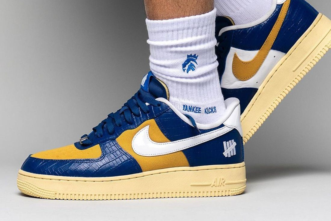 UNDEFEATED x Nike Air Force 1 Joins the 'Dunk vs AF-1' Pack on foot
