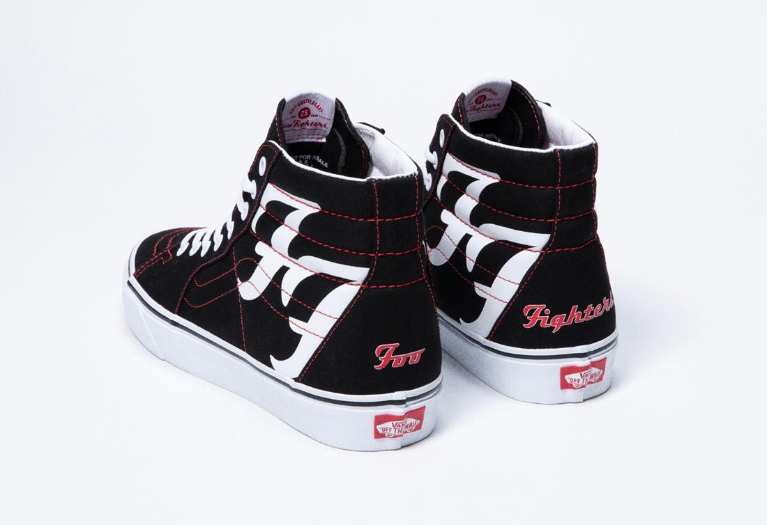 Foo Fighters x Vans Sk8-Hi