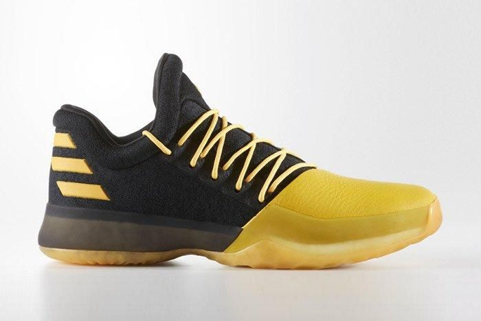 Adidas Harden Vol 1 Black Yellow 1